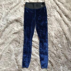 0ceba124692f0b Puma Pants   Blue Velvet Leggings   Poshmark